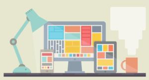 Webseite im responsive Design
