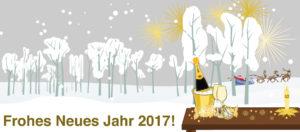 Banner Frohes Neues Jahr 2017