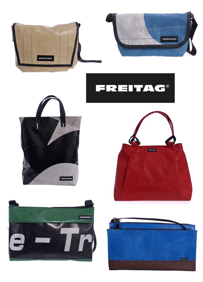FREITAG® - Taschen aus recycelter LKW-Plane