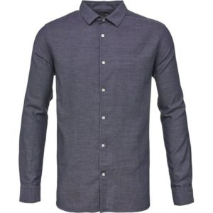knowledge-cotton-apparel-double-layer-shirt