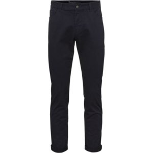 Knowledge Cotton Apparel Five Pocket Stretched Jeans Total Eclipse
