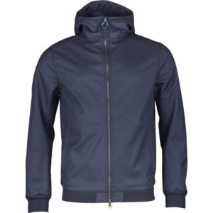 Knowledge Cotton Apparel Soft Shell-Jacket Total Eclipse