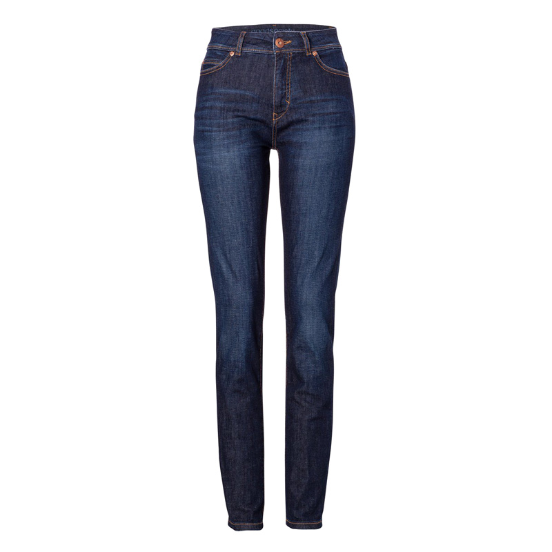 Womens High Rise Slim Jeans Kyanos