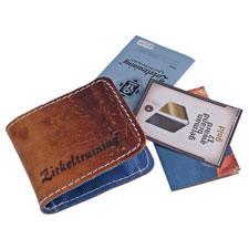 Geldbörse Bank S aus recyceltem Sportgeräteleder und Turnmatte von Zirkeltraining™