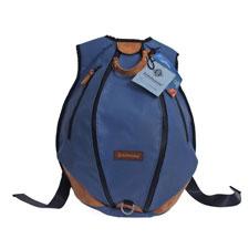 Rucksack aus recyceltem Sportgeräteleder und Turnmatte von Zirkeltraining™