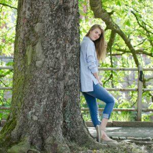 Alice Stripe Tencel-Shirt
