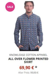 All over flower printed Shirt