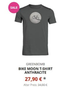Bike Moon T-Shirt anthracite