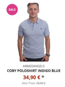 Coby Poloshirt indigo blue