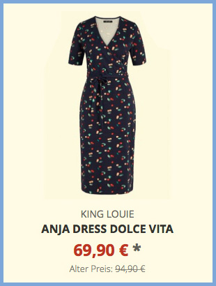 Anja Dress Dolce Vita