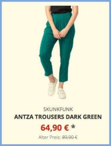 Antza Trousers dark green
