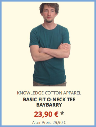 Basic Fit O-Neck Tee baybarry