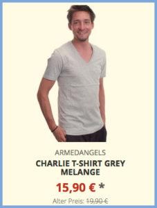 Charlie T-Shirt grey melange