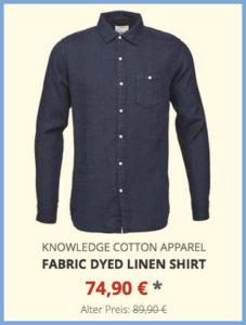 Fabric Dyed Linen Shirt