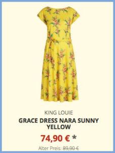 Grace Dress Nara sunny yellow