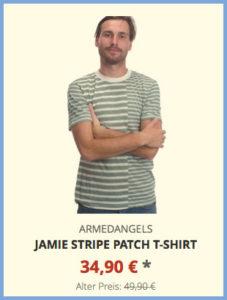 Jamie Stripe Patch T-Shirt
