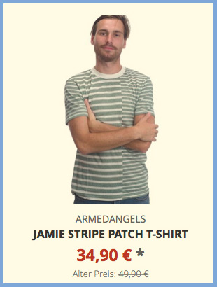 Jamie Stripe Patch T-Shirt