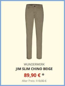 Jim slim Chino beige