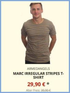 Marc Irregular Stripes T-Shirt
