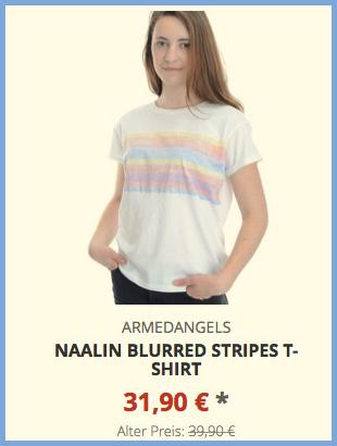 Naalin Blurred Stripes T-Shirt