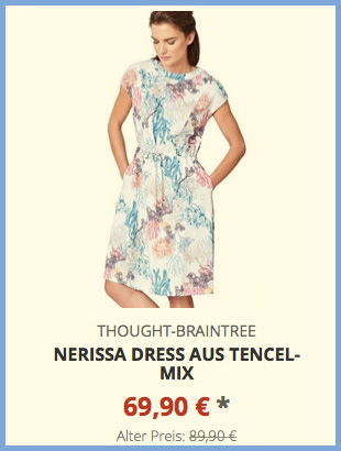 Nerissa Dress aus Tencel-Mix