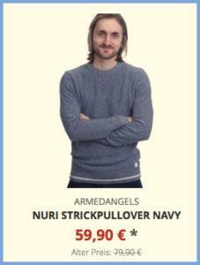 Nuri Strickpullover navy