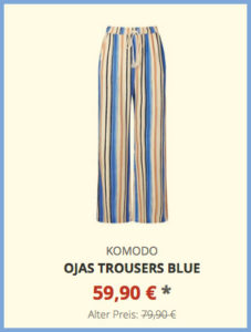 Ojas Trousers blue