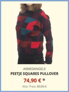 Peetje Squares Pullover