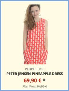 Peter Jensen Pineapple Dress