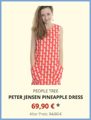 Peter Jensen Pineapple Dress