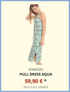 Pull Dress aqua