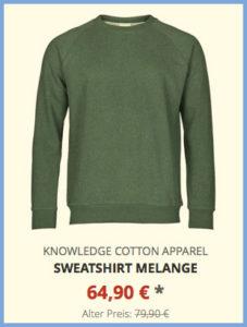 Sweatshirt melange