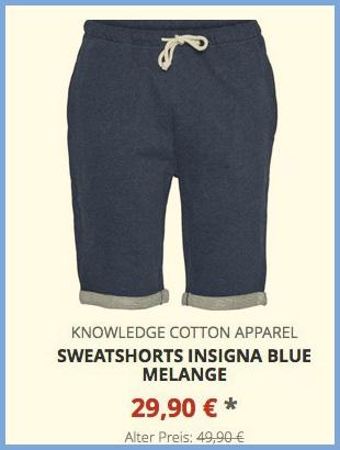 Sweatshorts insigna blue melange