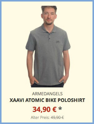 Xaavi Atomic Bike Poloshirt