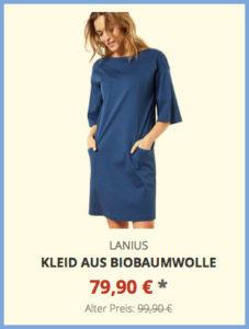 Kleid aus Biobaumwolle