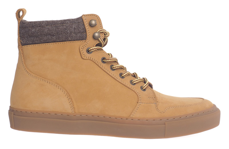 Steve High Top Sneaker Nubuk
