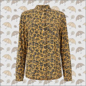 Taaimi Camou Flowers Bluse