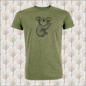 Animal Koala T-Shirt mid heather khaki