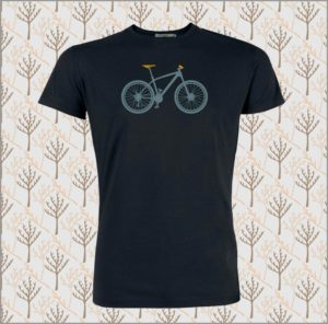 Bike Mountain Bike T-Shirt black