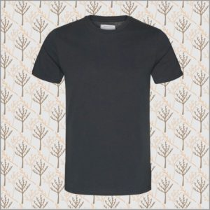 Jaames Basic T-Shirt acid black