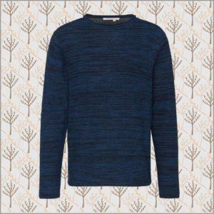 Light Knit Flecked Pullover