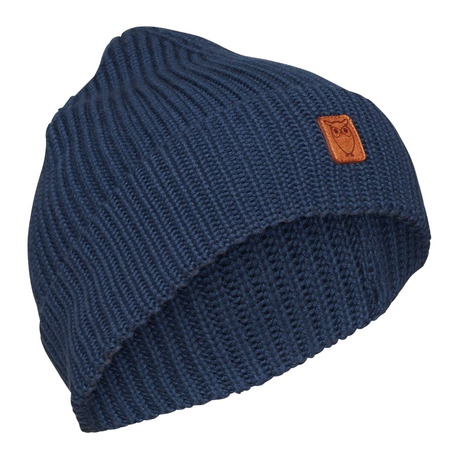 RIBBING HAT DARK DENIM