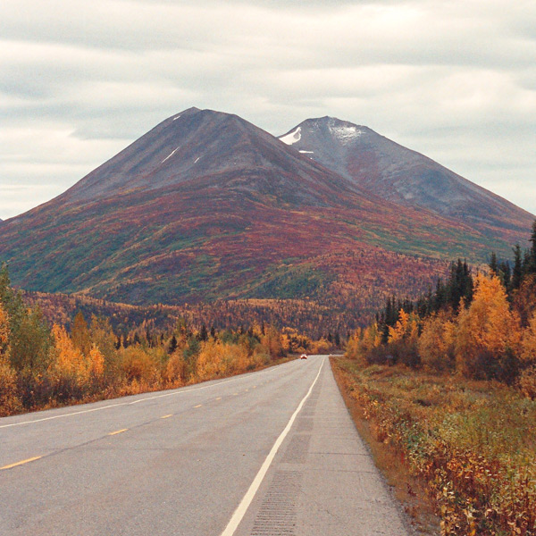 Richardson Highway in Alaska
