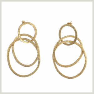 LINKED RINGS EARRINGS von PeopleTree