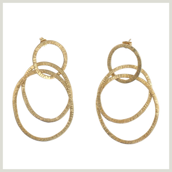 LINKED RINGS EARRINGS von PeopleTree