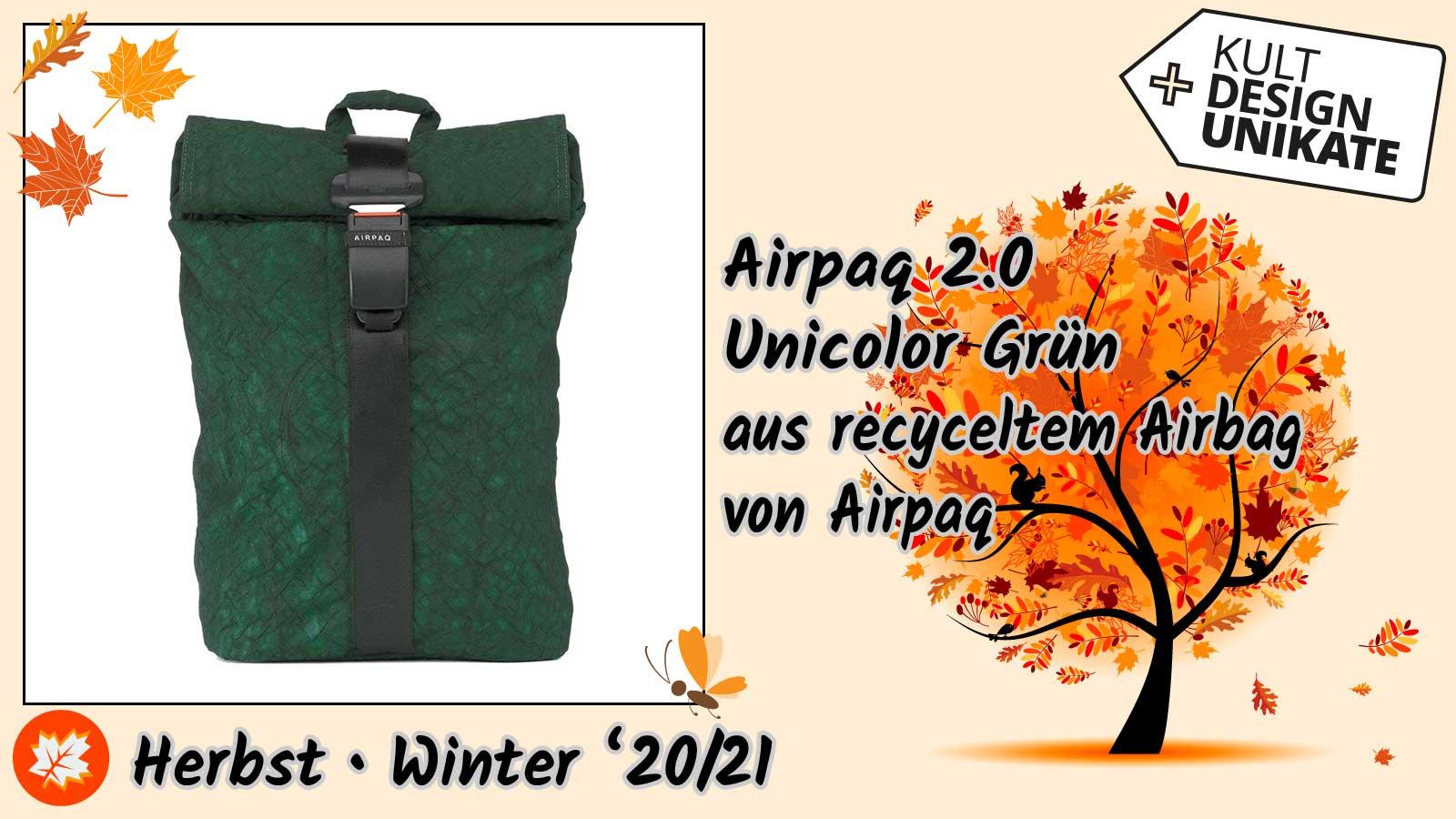 Airpaq-Airpaq-2.0-Unicolor-Gruen