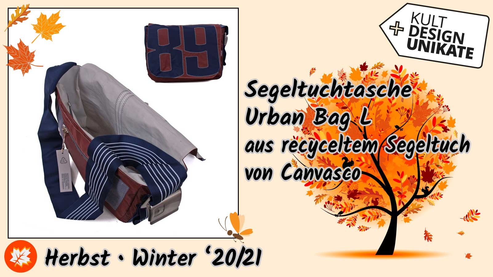 Canvasco-Segeltuchtasche-Urban-Bag-L