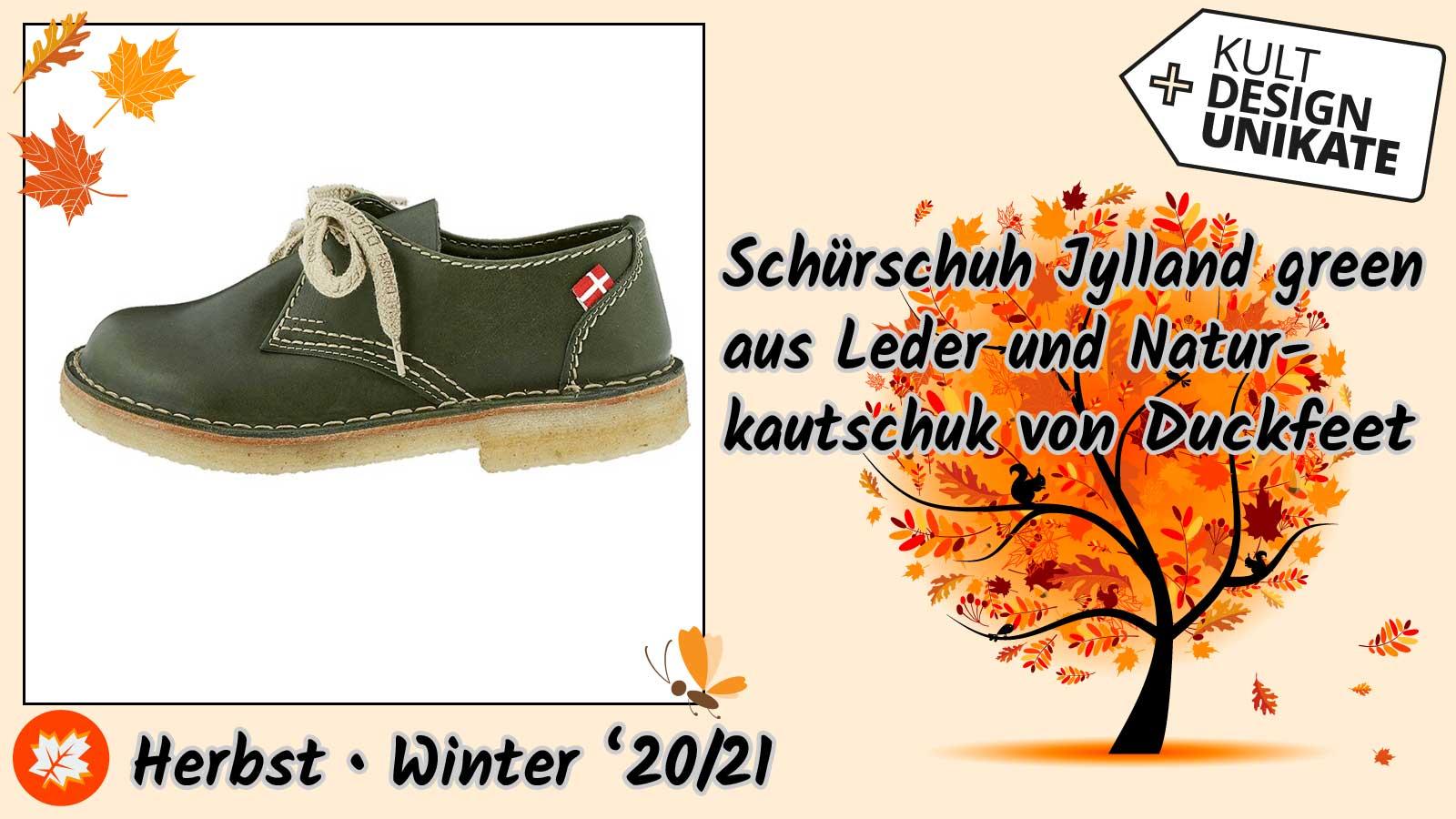 Duckfeet-Schuerschuh-Jylland-green