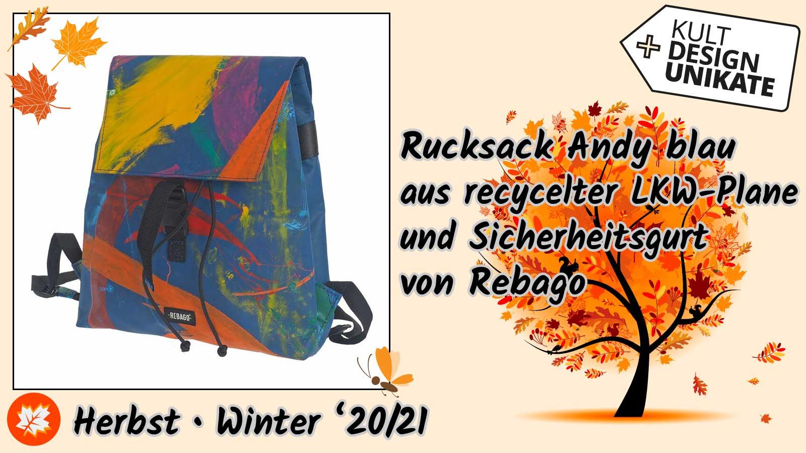 Rebago-Rucksack-Andy-blau