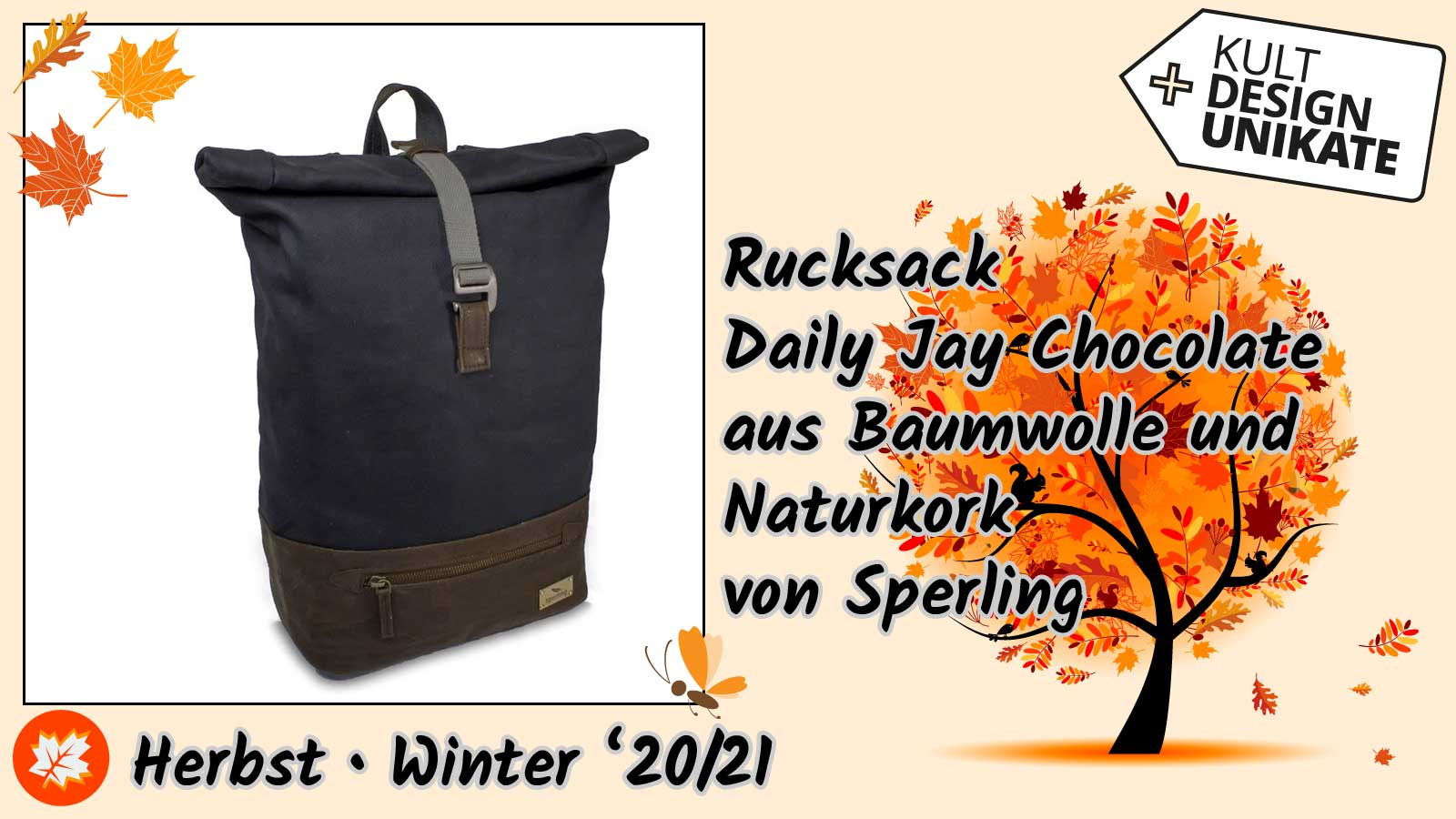 Sperling-Rucksack-Daily-Jay-Chocolate